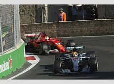 Azerbaijan GP Ricciardo wins, Hamilton and Vettel clash