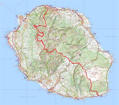grr2 hiking from st denis to st philippe reunion island