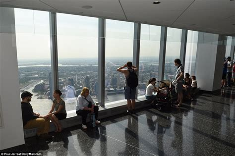 one world trade center observatory opens to and shows daily mail