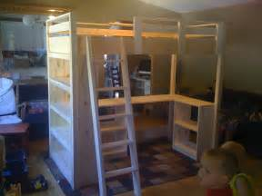 white s loft bed diy projects