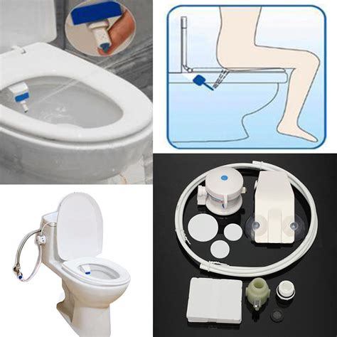 Smart Hygiene Easy Toilet Bidet Seat Sprayer Water Wash