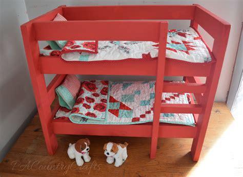 american doll furniture american bunk bed diy american doll bunk bed