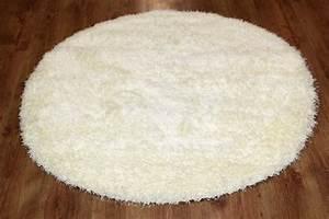 Teppich Rund 160 : rund teppich 160 cm wei spectrum ~ Markanthonyermac.com Haus und Dekorationen