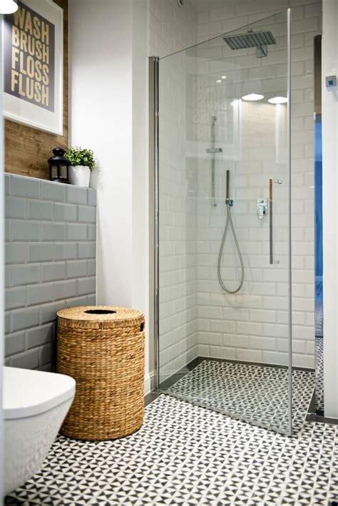 salle de bain avec du carrelage m 233 tro picslovin
