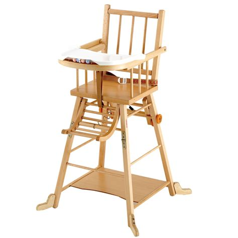 chaise haute transformable de combelle chaises hautes r 233 glables aubert