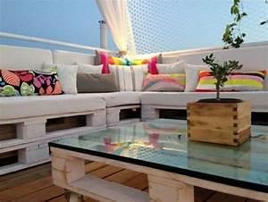 Europaletten Möbel Bauen : 50 coole modelle sofa aus europaletten ~ Markanthonyermac.com Haus und Dekorationen