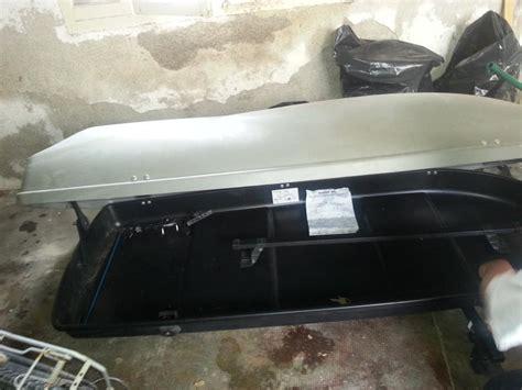 troc echange coffre de toit 450l plus barres de toit sur troc