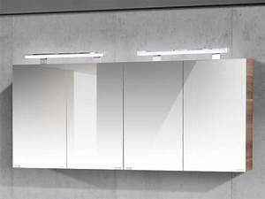 Spiegelschrank Bad 160 Cm Breit : spiegelschrank 160cm breit 4 t rig 2x spigelschrank 80cm paul gottfried ~ Markanthonyermac.com Haus und Dekorationen