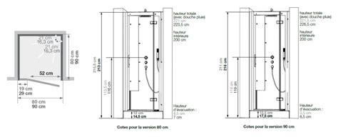 cabine de horizon niche 80x80 faible hauteur porte pivotante acier kinedo r 233 f ca131n12