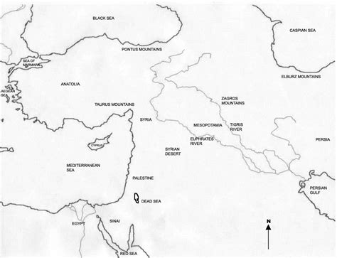 Worksheet Fertile Crescent Map Worksheet Carlos Lomas