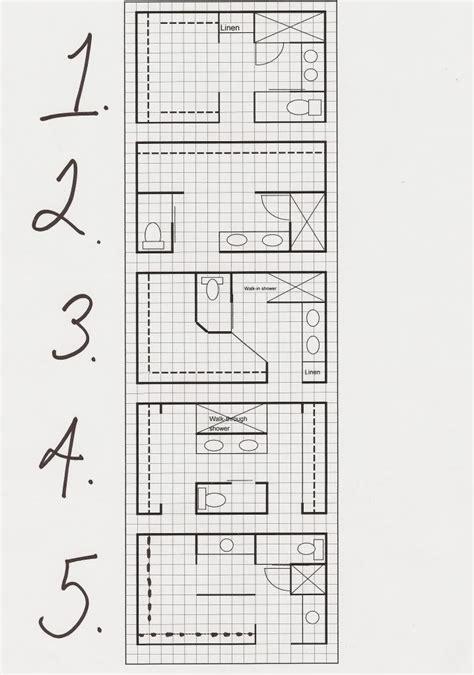 layout ideas like 1 and 3 bathroom