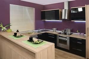 Küche Farbe Wand : welche wandfarbe f r k che 55 gute ideen und beispiele ~ Markanthonyermac.com Haus und Dekorationen