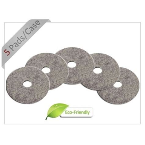of 20 quot hair embedded floor polishing pads 5 per