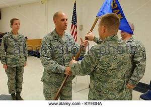 From left, outgoing Commander Col. Marty G. Vannatter, Mr ...