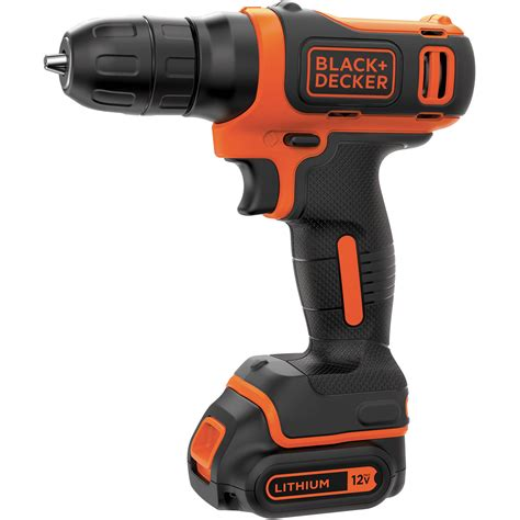 Black And Decker 12v Max Lithium Ion Drill With 64piece