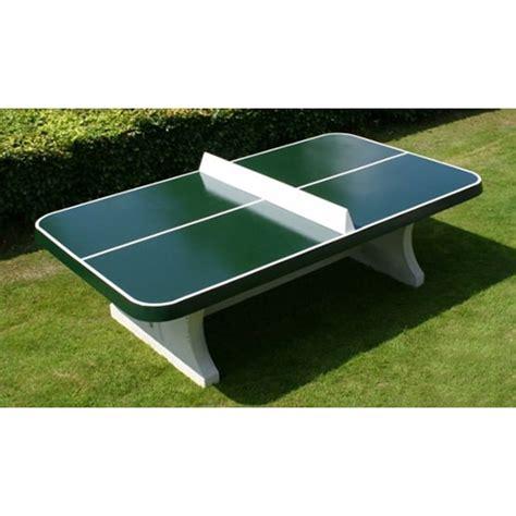 table ping pong angles arrondis exterieur beton verte partenaire cing