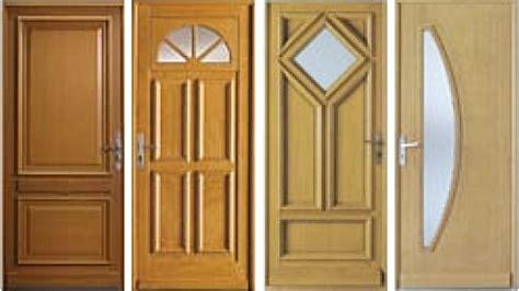 types avantages et prix d une porte d entr 233 e en bois