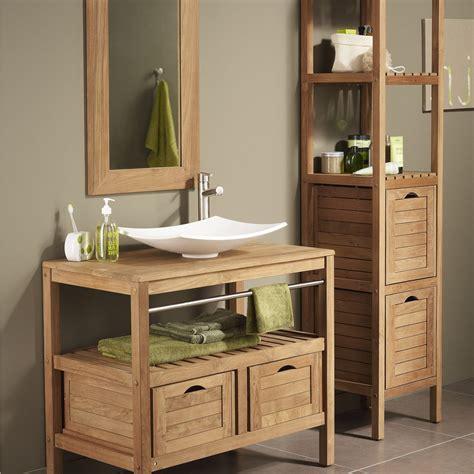 meuble salle de bain bois exotique leroy merlin salle de bain id 233 es de d 233 coration de maison