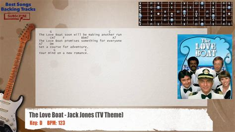Love Boat Theme Guitar Chords by The Love Boat Jack Jones Tv Theme Guitar Backing Track
