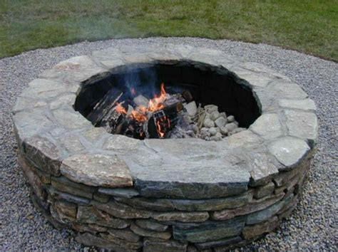 Rustic Outdoor Fire Pit Ideas-implementation Of Outdoor