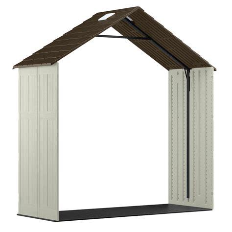shop suncast tremont gable storage shed common 8 ft x 10 ft actual interior dimensions 7 9