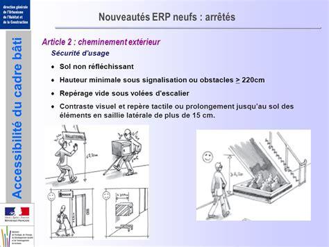 nouveau dispositif reglementaire les erp neufs ppt t 233 l 233 charger