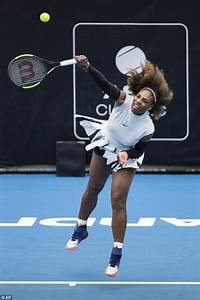 Serena Williams plays for the first time since announcing ...