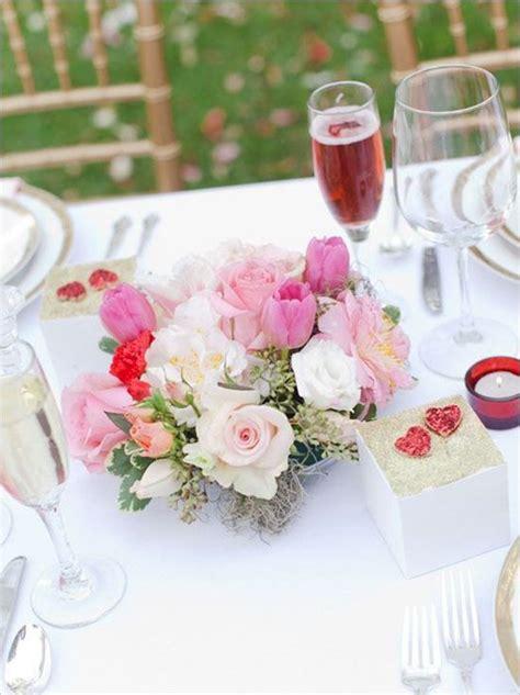 8 centres de tables romantiques pour un mariage sp 233 cial valentin mariage