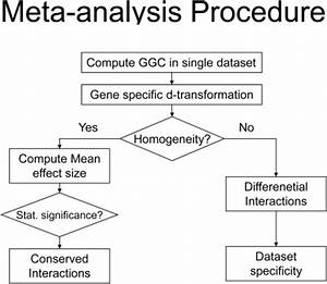 Proposed meta-analysis algorithm flowchart.After calcul ...