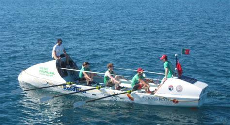 Roeien Over De Oceaan by Ralph Tuijn En Team Breken Oceaan Record Roeien Rowingbike