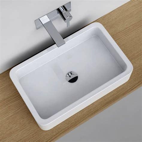 vasque a poser rectangulaire wehomez