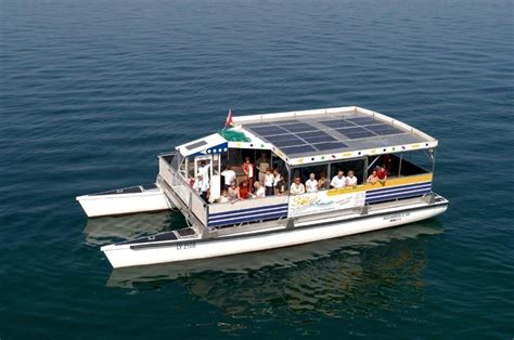 Catamaran Electric Engine by A Grove Boats Solar Powered Catamaran She Can Accommodate