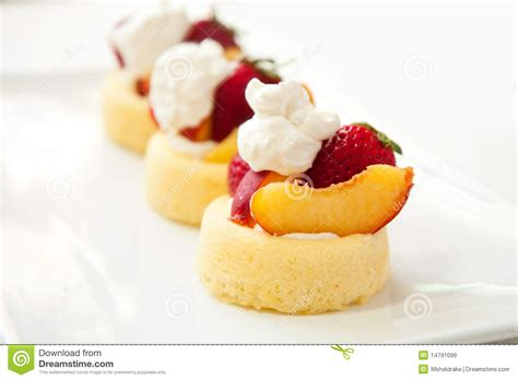 simple summer fruit dessert royalty free stock images