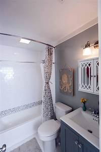 small bathroom makeovers after beach flip after the makeover the space looks ...