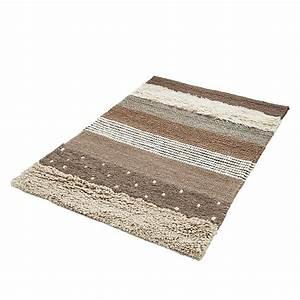 Teppich Aus Wolle : teppich gestreift haus deko ideen ~ Markanthonyermac.com Haus und Dekorationen