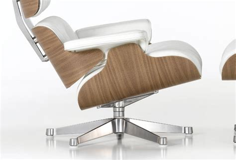 fauteuil lounge charles eames blanc