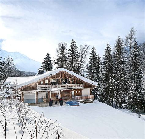 alps luxury ski chalet with pool to rent near chamonix