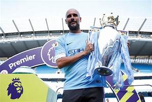 Pictures: Manchester City lift the Premier League trophy