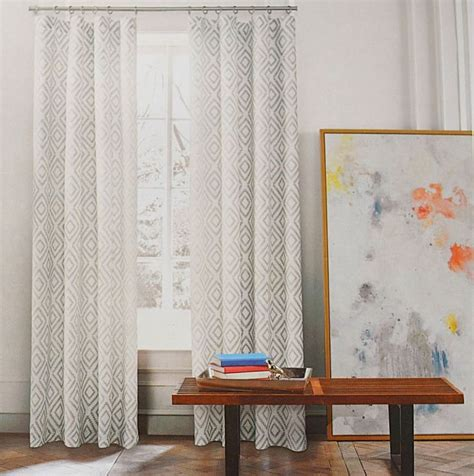 hilfiger lake gray beige grey 2pc window curtain panels 96 quot pair lakes gray and