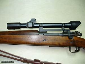 Remington, 1903-A4 ORIGINAL WWII SNIPER RIFLE EQUIPPED ...