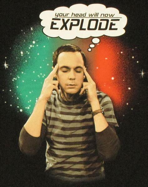 Big Bang Theory Explode T Shirt