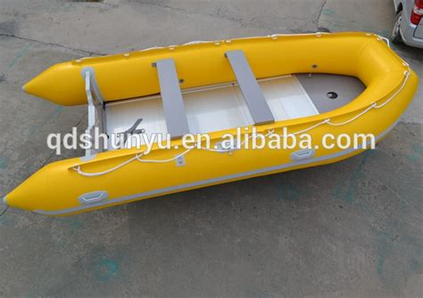 Inflatable Boat Material by Inflatable Boat With Good Quality Pvc Material Aluminium