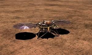 NASA's InSight Lander on Mars deploys seismometer to study ...