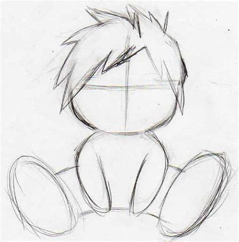 comment dessiner quelqu un assis
