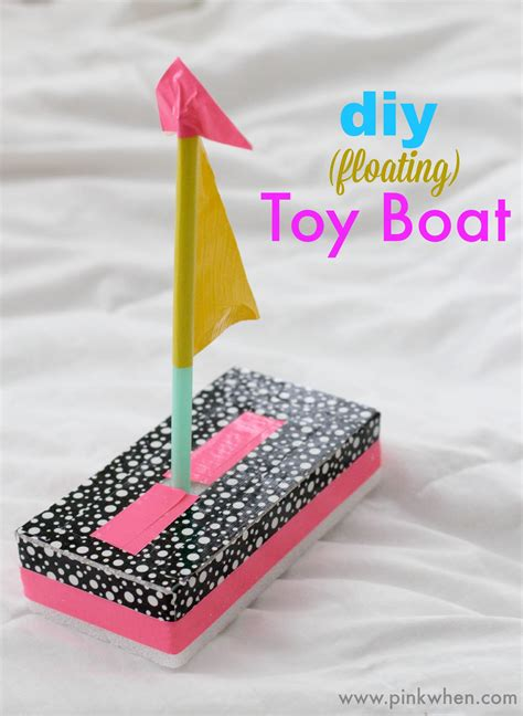 Easy Toy Boat by Diy Toy Boat Quick Fun Crafts Pinkwhen