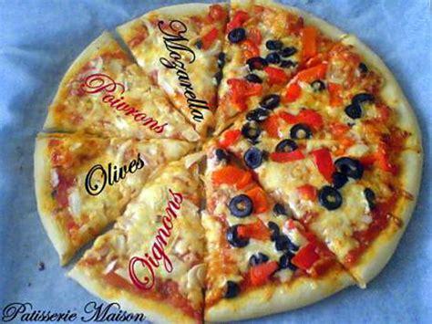 recette pate pizza italienne maison