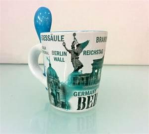 Berlin Souvenirs Online : espresso cup with spoon berlin blue souvenirs online shop ~ Markanthonyermac.com Haus und Dekorationen
