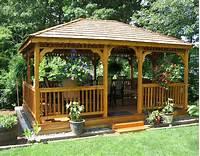building a gazebo Gazebos : Wooden Garden Shed Plans Compliments Of Build ...