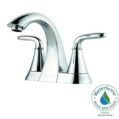 Pfister Pasadena Kitchen Faucet Slate by Pfister Pasadena 4 In Centerset 2 Handle High Arc