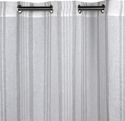 eyelet sheer brisbane light gray contemporary curtains by madura